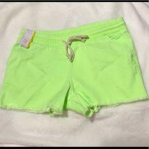 NWT Neon short shorts